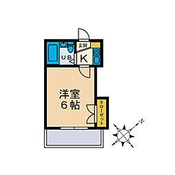 IFARO HONATSUGI[2階]の間取り