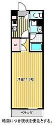 愛知県名古屋市千種区清住町3丁目の賃貸マンションの間取り