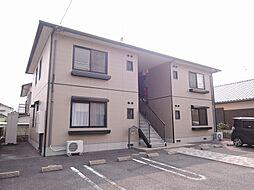 福岡県中間市太賀3丁目の賃貸アパートの外観