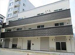 東京都中央区月島1丁目の賃貸アパートの外観