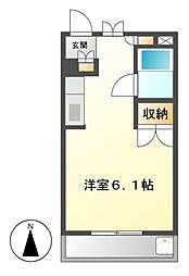 愛知県名古屋市昭和区川名町2の賃貸マンションの間取り