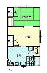 南高田駅 4.0万円