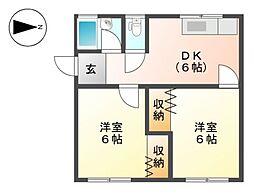 前田ビル[1階]の間取り