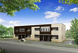 仮)篠栗町尾仲新築アパート[1階]の外観