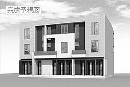 福岡県北九州市八幡西区陣山3丁目の賃貸アパートの外観