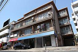 ハピネス本八幡[4階]の外観