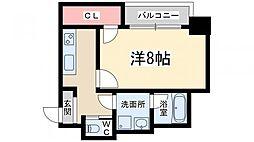 アネシス新大阪[3階]の間取り