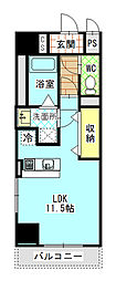 Mondo Fuji 3[2階]の間取り