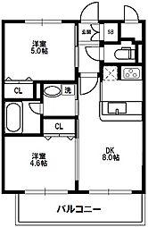 EC(エステムコート)新大阪IXグランブライト[3階]の間取り
