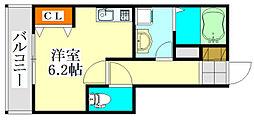 V-room1[3階]の間取り