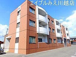 三重県四日市市蒔田3丁目の賃貸マンションの外観