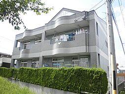 クレストールB棟[2階]の外観
