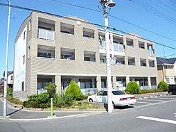 千葉県東金市田間2丁目の賃貸マンションの外観