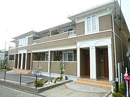 静岡県磐田市三ケ野の賃貸アパートの外観