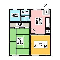 310bldg[4階]の間取り