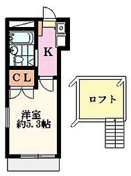 メゾンFUJI(桜ヶ丘)[1階]の間取り