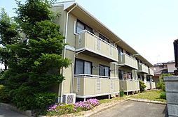 長野県長野市篠ノ井布施五明の賃貸アパートの外観