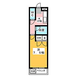 URBAN20[1階]の間取り