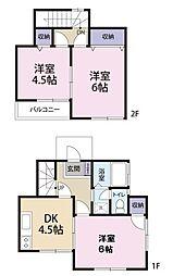 [テラスハウス] 埼玉県さいたま市浦和区岸町1丁目 の賃貸【埼玉県 / さいたま市浦和区】の間取り