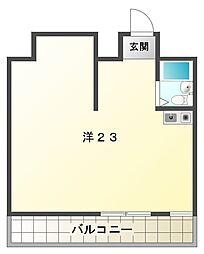 JPアパートメント守口VI[4階]の間取り