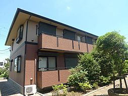 千葉県市川市高谷3丁目の賃貸アパートの外観
