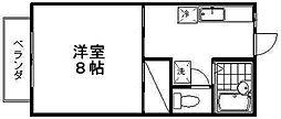 新潟県新潟市西区坂井砂山1丁目の賃貸アパートの間取り
