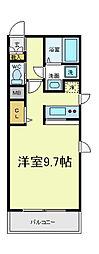 アンフルール[2階]の間取り