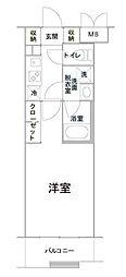 ルーブル三軒茶屋伍番館[4階]の間取り