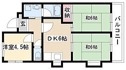愛知県名古屋市南区丹後通3丁目の賃貸マンションの間取り