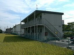 パミールC[2階]の外観