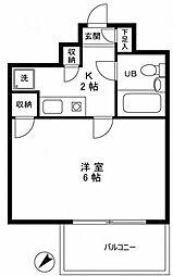 ライベストコート南長崎[3階]の間取り
