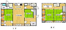 [一戸建] 静岡県三島市藤代町 の賃貸【/】の間取り