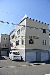 北海道札幌市北区太平三条3の賃貸アパートの外観