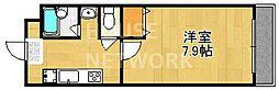 ドミール壱番館[3-B号室号室]の間取り