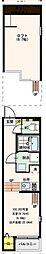 仮称)ハーモニーテラス遠里小野6丁目 B棟[1階]の間取り