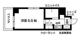 Nasic梶ヶ谷[501号室号室]の間取り