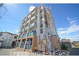 大阪府枚方市甲斐田東町の賃貸マンションの外観