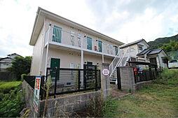 山口県下関市豊浦町大字厚母郷の賃貸アパートの外観