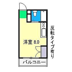エトワール愛宕II[3階]の間取り