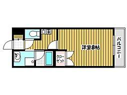 コーボレーション草津[5階]の間取り