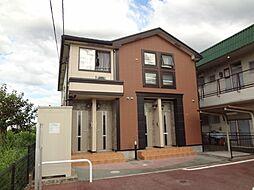 三重県松阪市嬉野野田町の賃貸アパートの外観