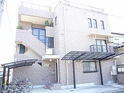 埼玉県春日部市中央3丁目の賃貸マンションの外観