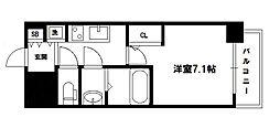 S-RESIDENCE新大阪駅前[3階]の間取り