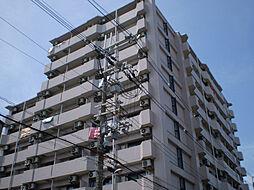 大阪府豊中市野田町3丁目の賃貸マンションの外観