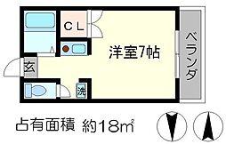 グレーシー西ノ京[3階]の間取り