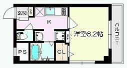 エクセル平井[301号室]の間取り