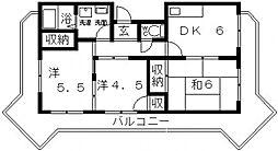メゾンプレミール[305号室号室]の間取り