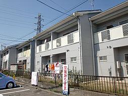 滋賀県守山市守山3丁目の賃貸アパートの外観