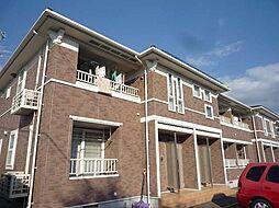 岩手県盛岡市東見前の賃貸アパートの外観