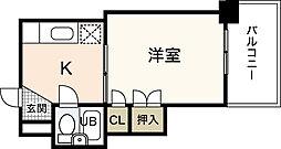 スタープラザ横川[5階]の間取り